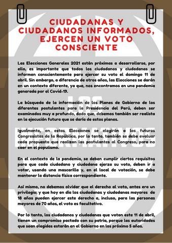 Borrador - Discurso sobre la Participación Ciudadana