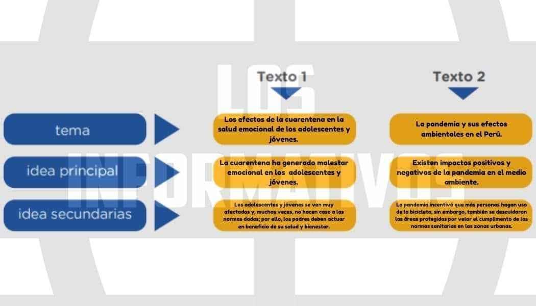 Organicemos la información - Tema e ideas principales